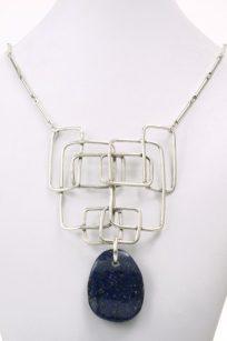 Collier lapiz lazuli