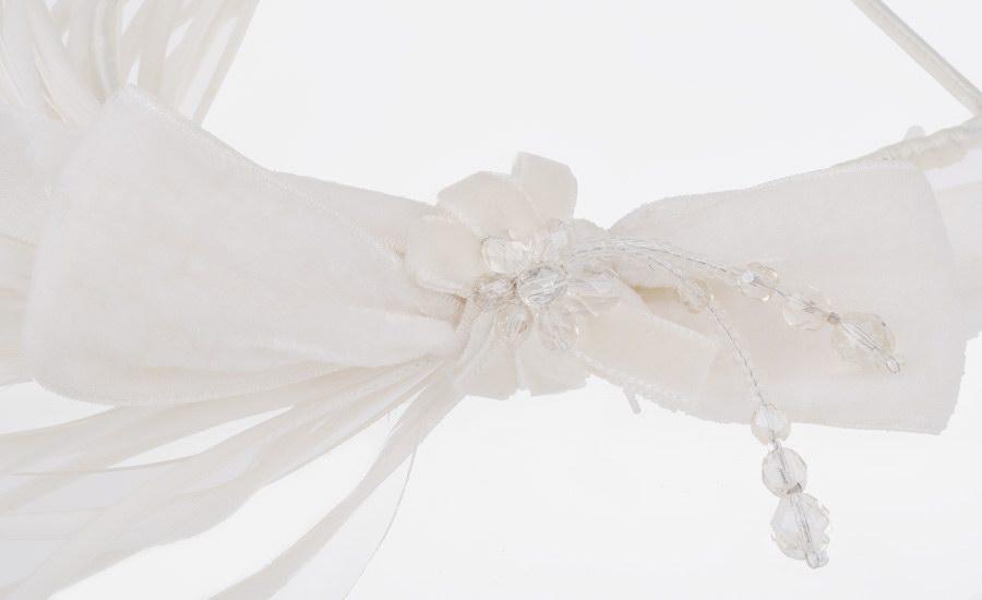 Bibi mariage nœud detail