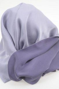 Echarpe violet parme
