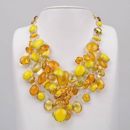 Collier jaune