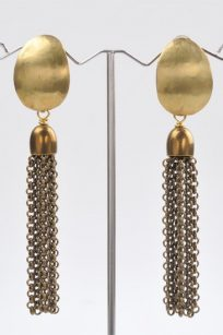 Boucles d'oreilles en bronze doré