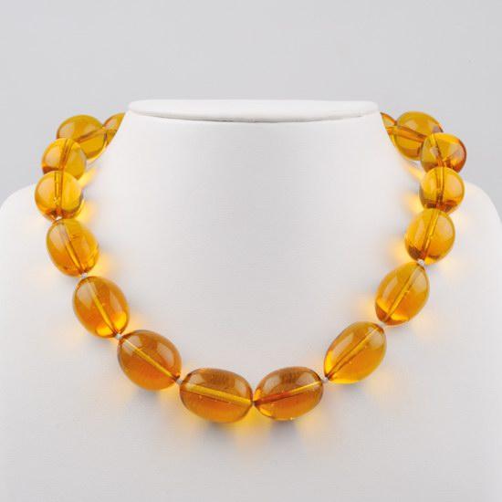 Collier jaune tournesol