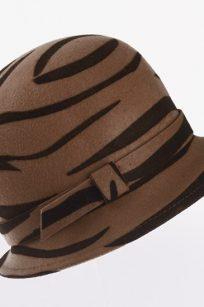 Chapeau cloche thème safari