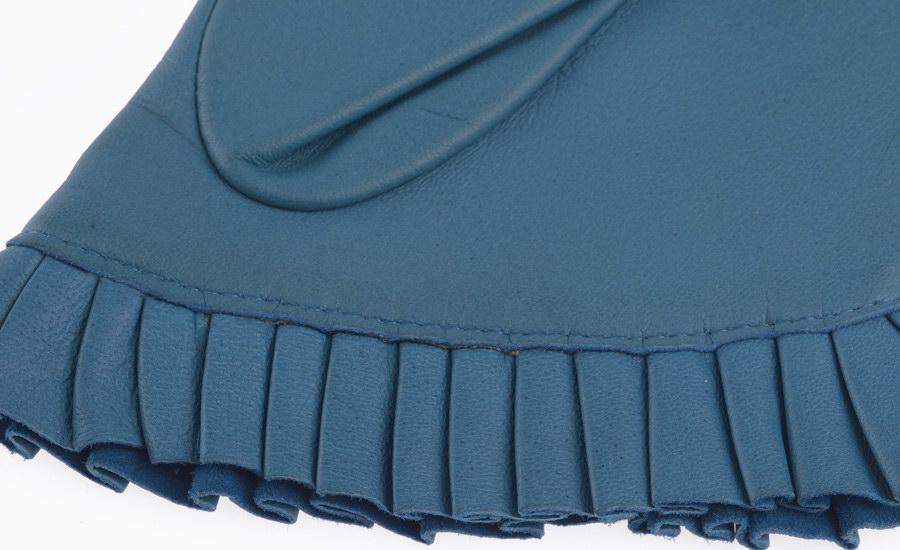 Gant turquoise detail
