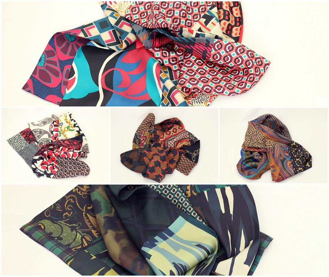 foulard soie pour femme